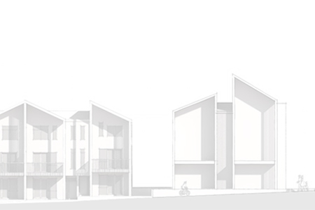 Studio A - Multi-Unit Residential Concept Sketch