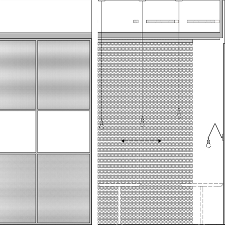 Restaurant interior fit-out elevation drawings