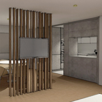 London Apartment render